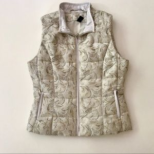 WHBM Embroidered Vest